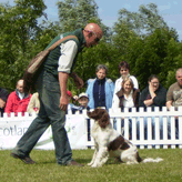 Charlie with Moss at the Highland Show 2005, Mordor Gun Dogs, Mordor Gun Dogs,          International Training & Breeding, Perthshire, Scotland