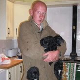 Charlie & Some Mordor Pups, Mordor Gundogs, International Training & Breeding,          Perthshire, Scotland